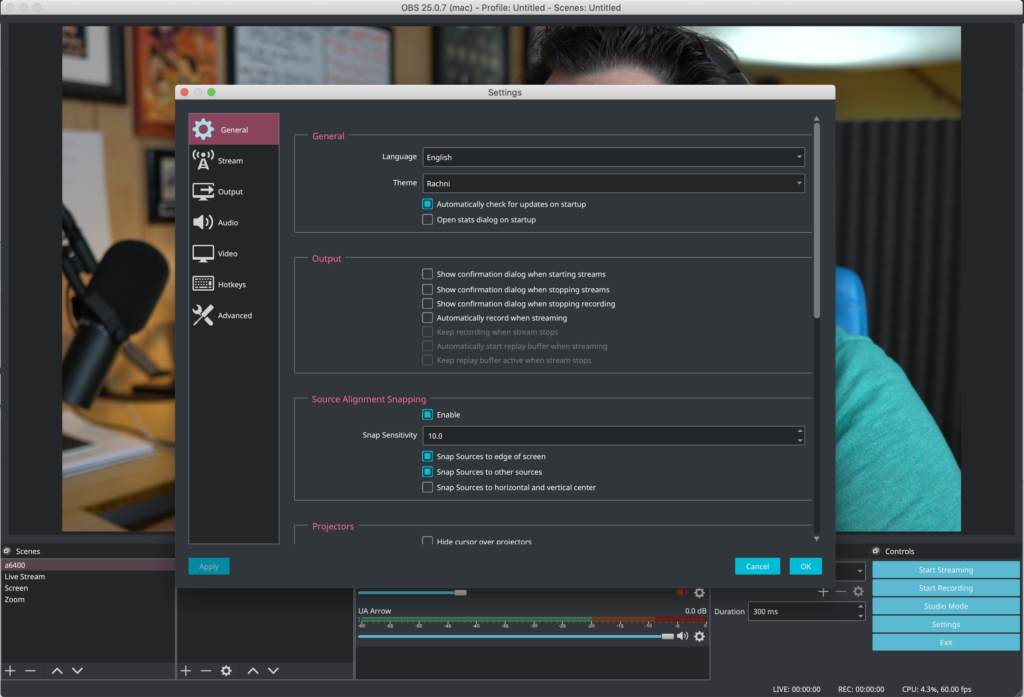 OBS Interface