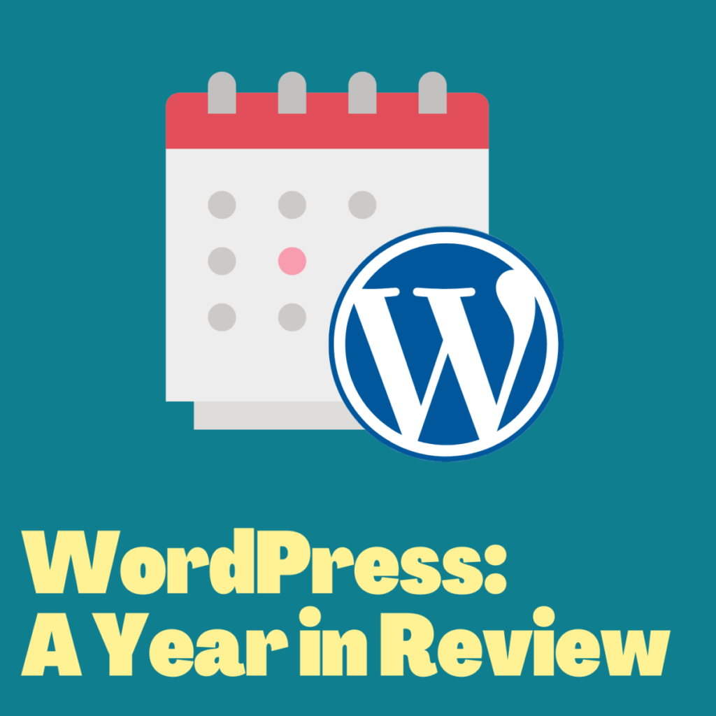 WordPress: Year in Review Cover art