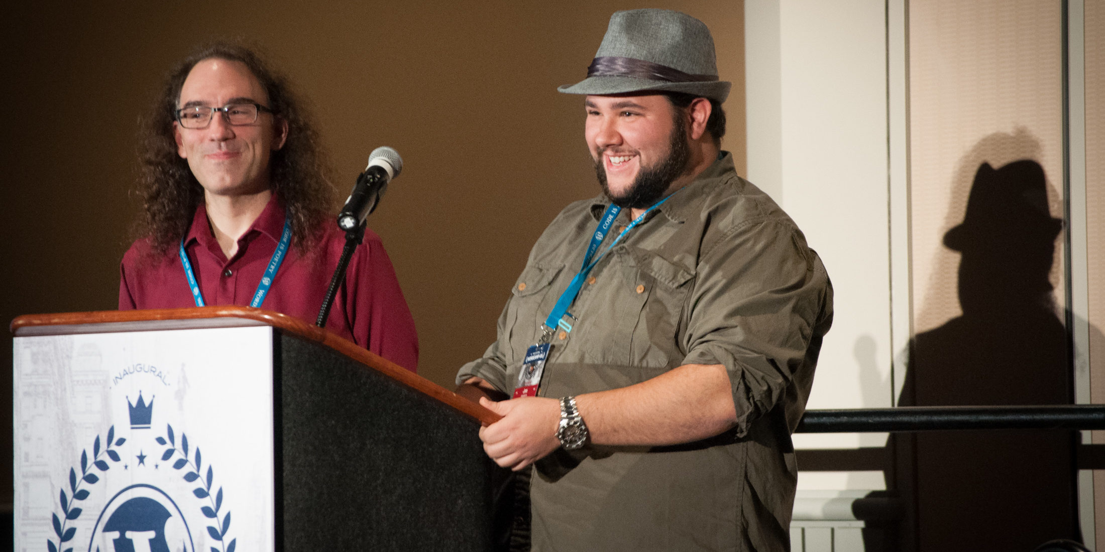 Joe Casabona speaks on Never Assuming When Teaching WordPress, at WordCamp US 2015 #wcus