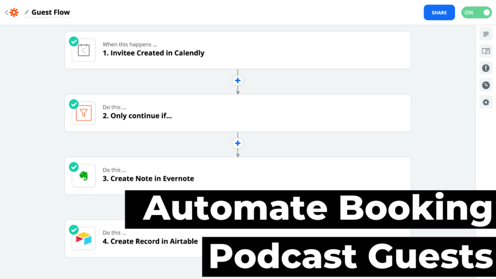 Automate Booking Podcast Guests